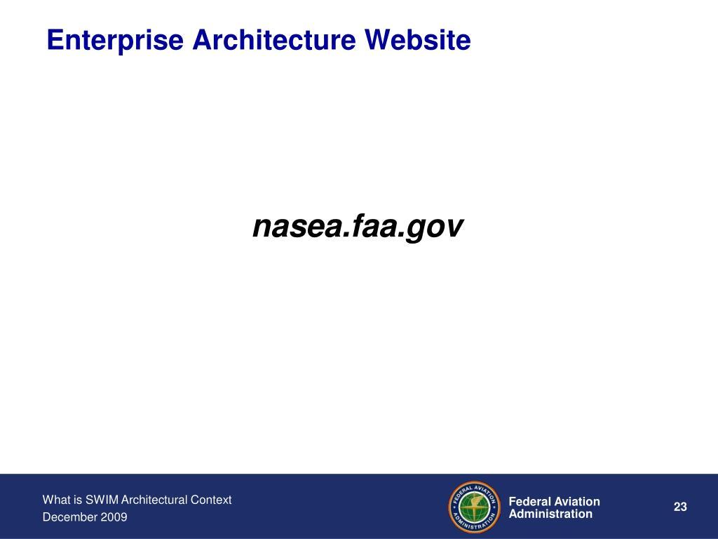 Enterprise Architecture Website