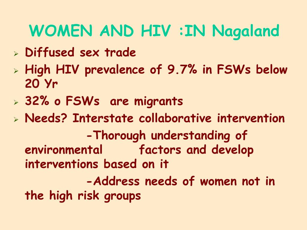 WOMEN AND HIV :IN Nagaland