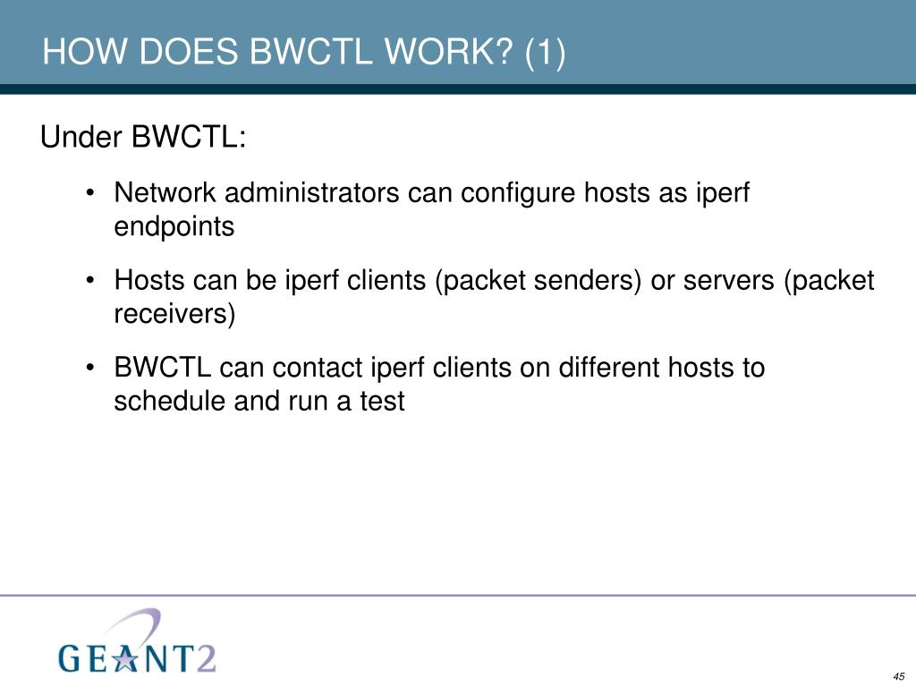 HOW DOES BWCTL WORK? (1)