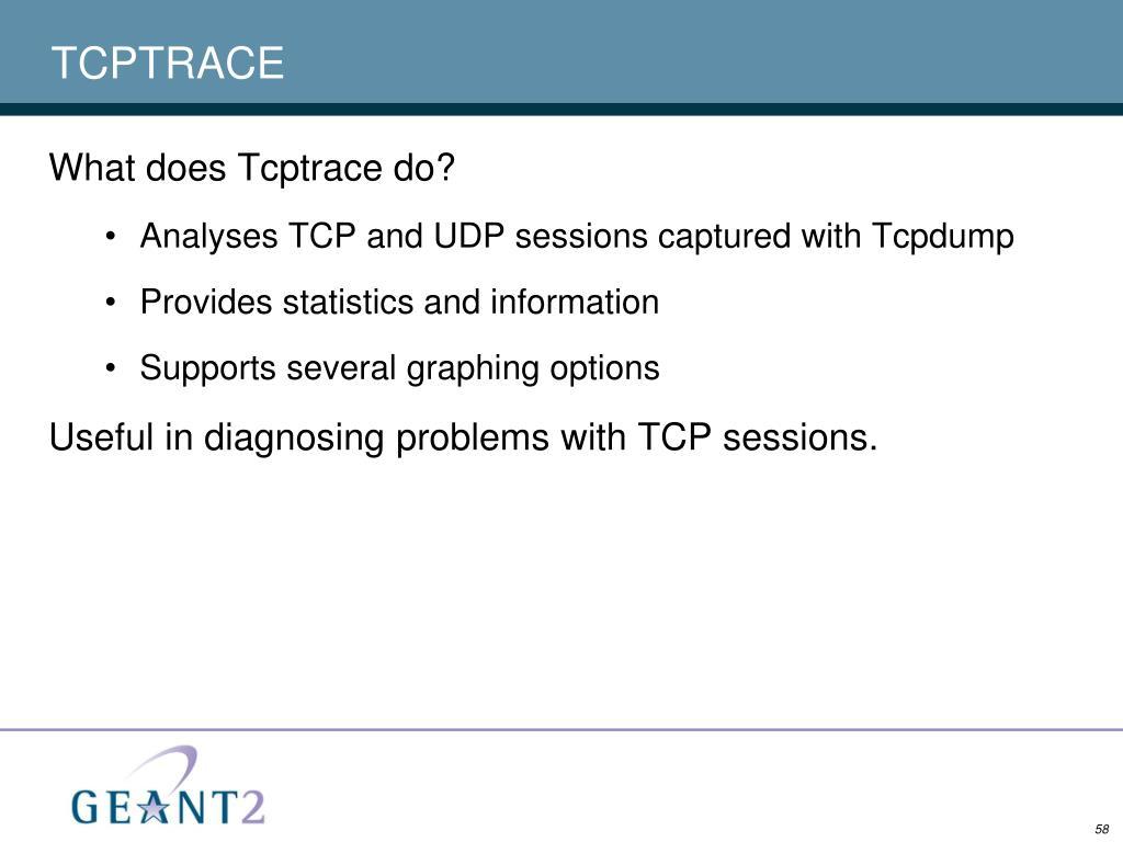 TCPTRACE
