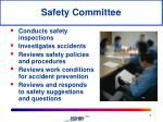 safety committee