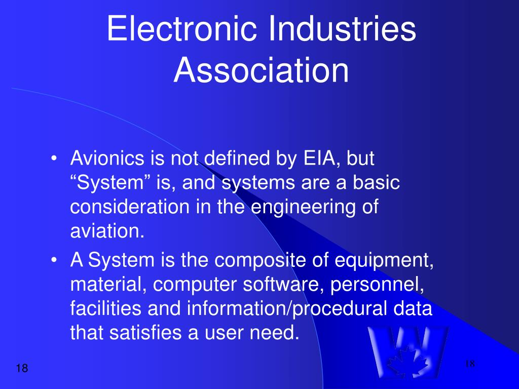 Electronic Industries Association