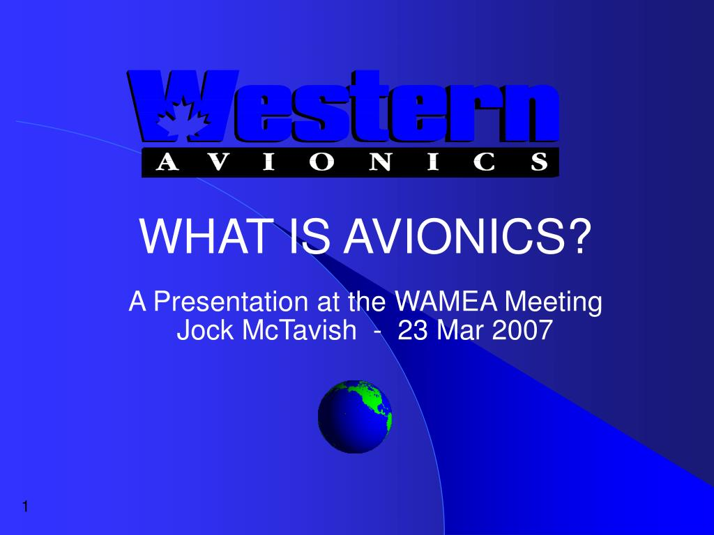 WHAT IS AVIONICS?