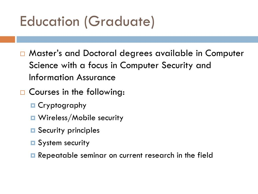 Education (Graduate)
