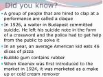 did you know80