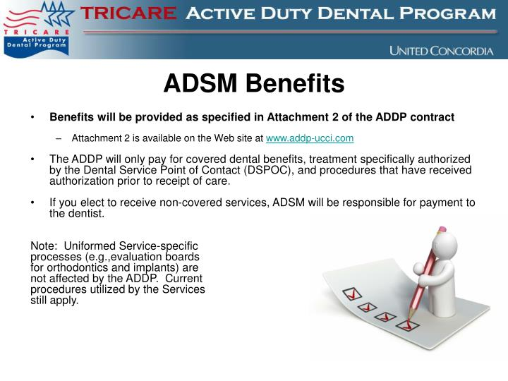 ADSM Benefits