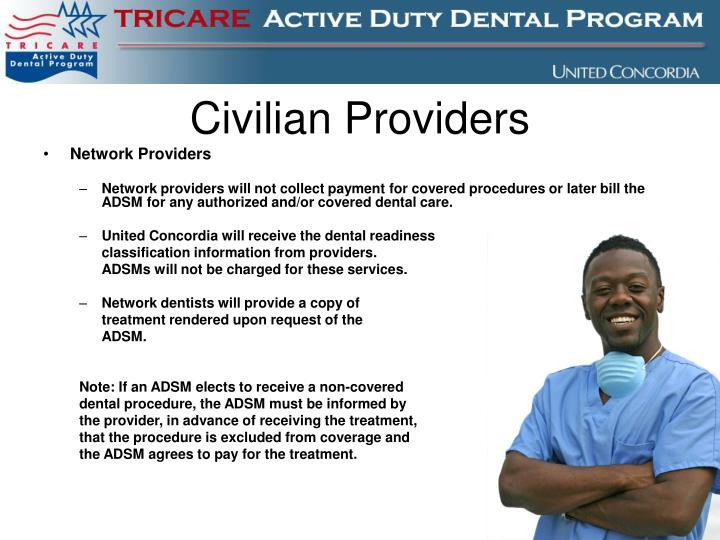 Civilian Providers