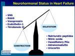 neurohormonal status in heart failure