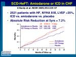 scd heft amiodarone or icd in chf