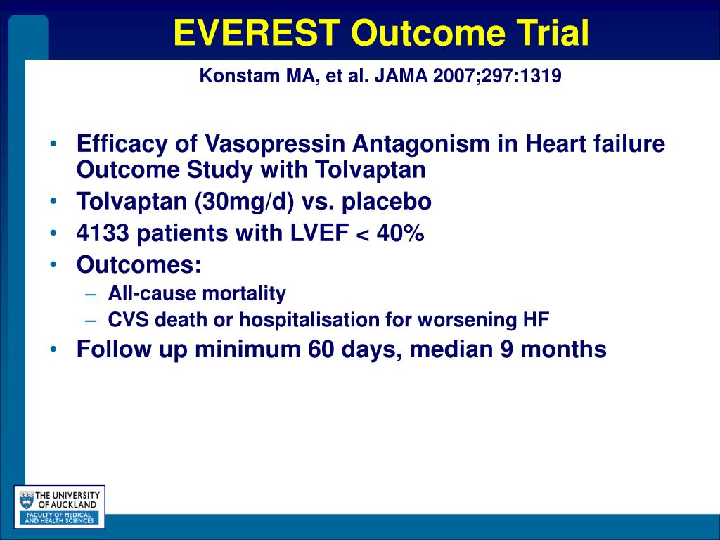 EVEREST Outcome Trial