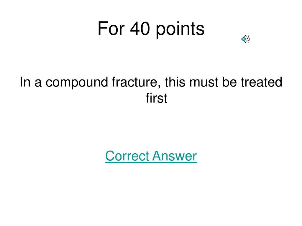 For 40 points