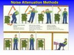 noise attenuation methods