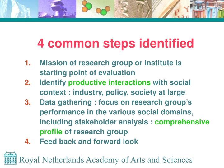 4 common steps identified