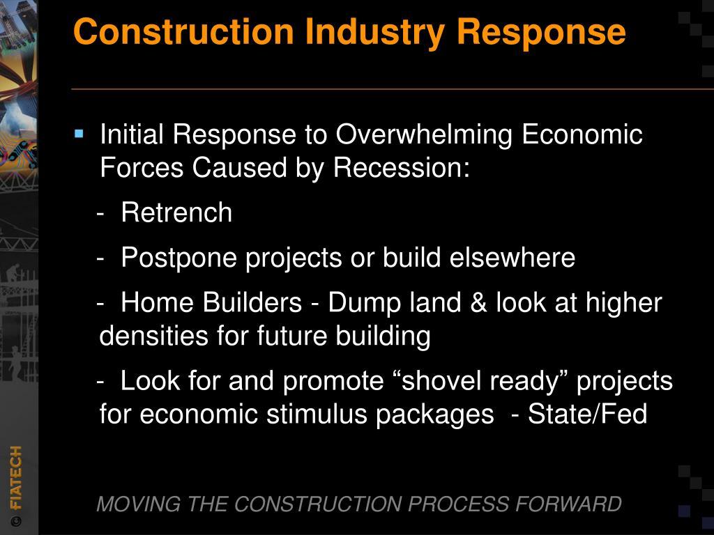 Construction Industry Response