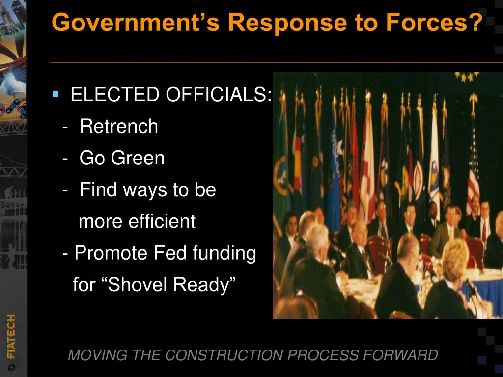 Government's Response to Forces?