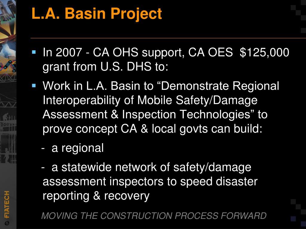 L.A. Basin Project