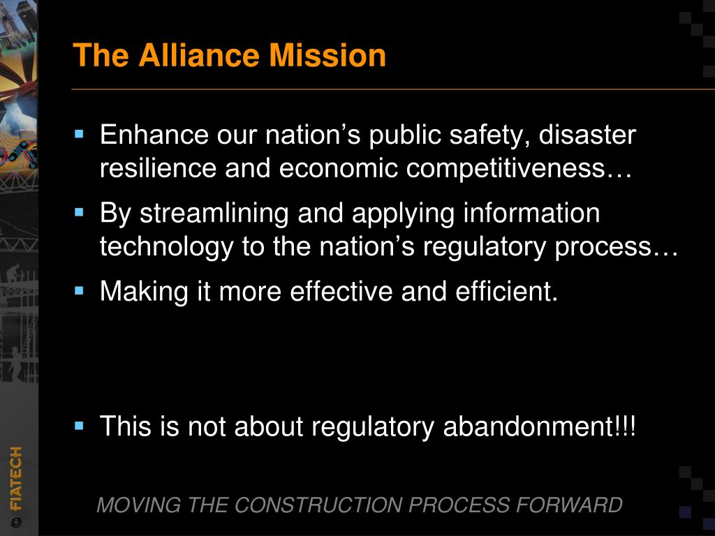 The Alliance Mission