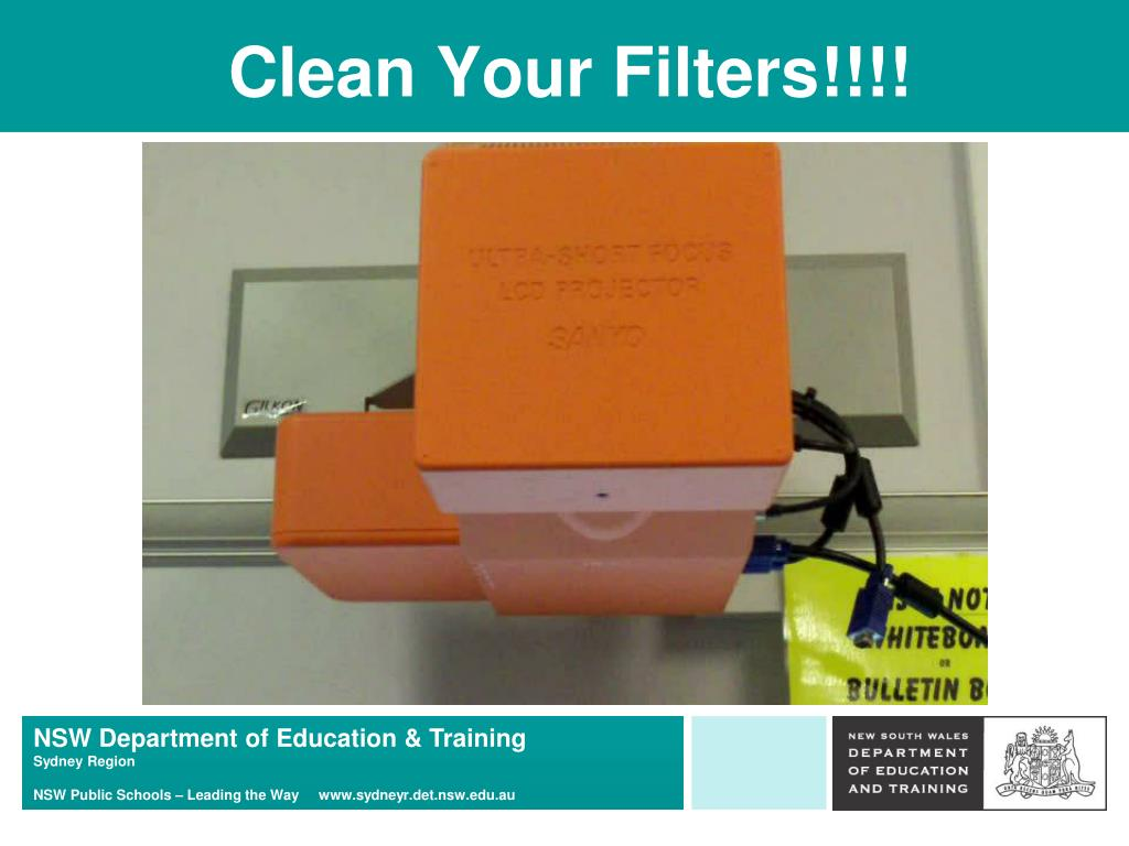 Clean Your Filters!!!!