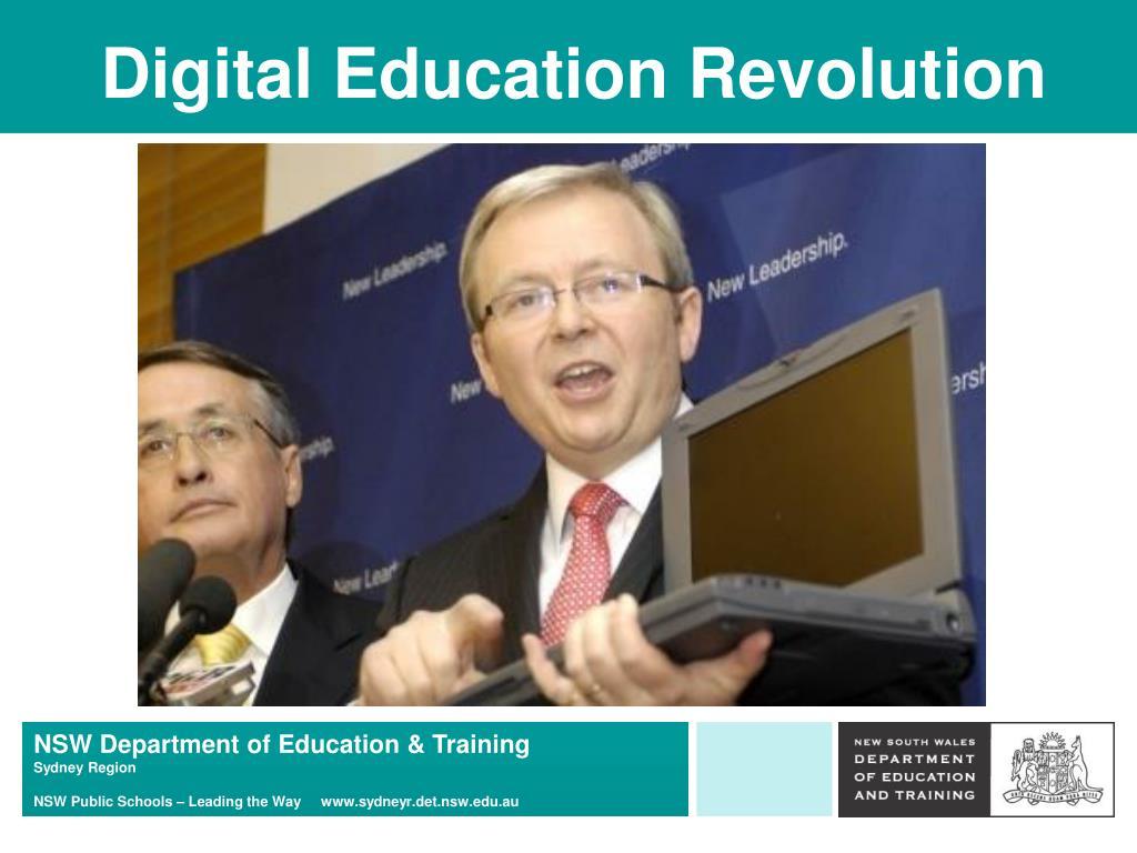 Digital Education Revolution