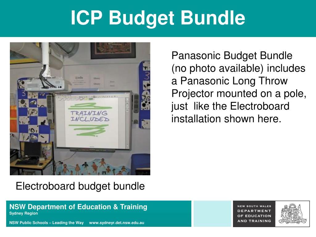 ICP Budget Bundle