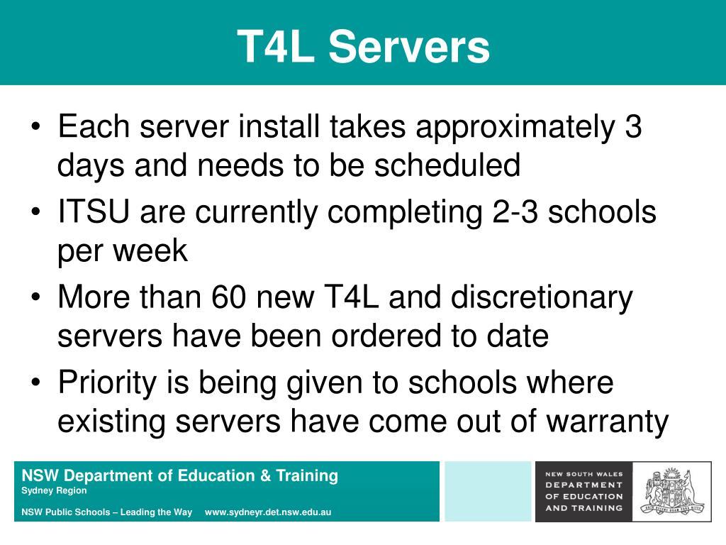 T4L Servers
