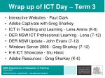 wrap up of ict day term 3
