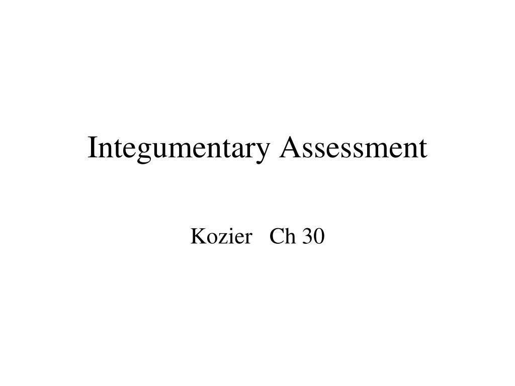 Integumentary Assessment