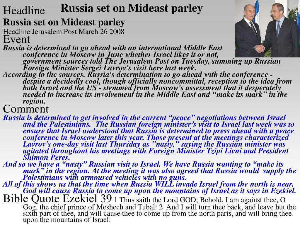 Russia set on Mideast parley