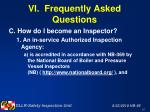 vi frequently asked questions47