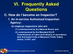 vi frequently asked questions48