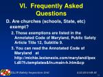vi frequently asked questions51