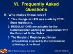 vi frequently asked questions59