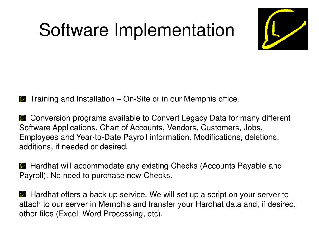 Software Implementation