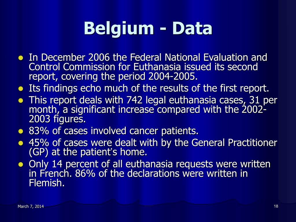 Belgium - Data