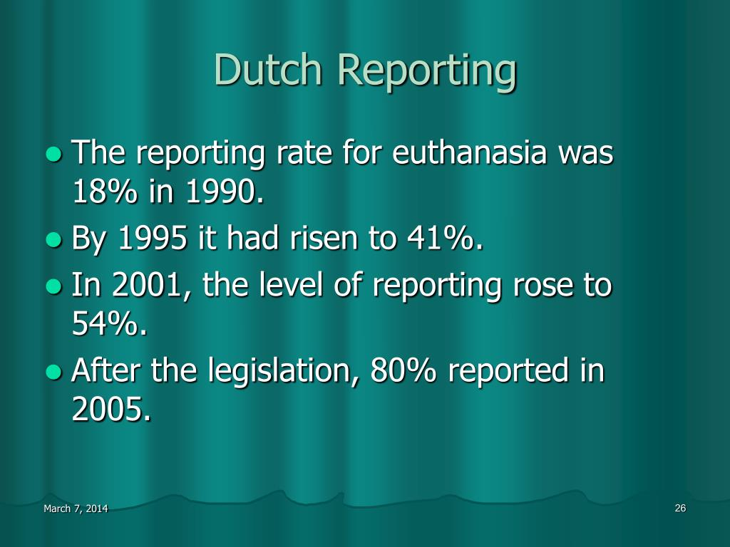Dutch Reporting
