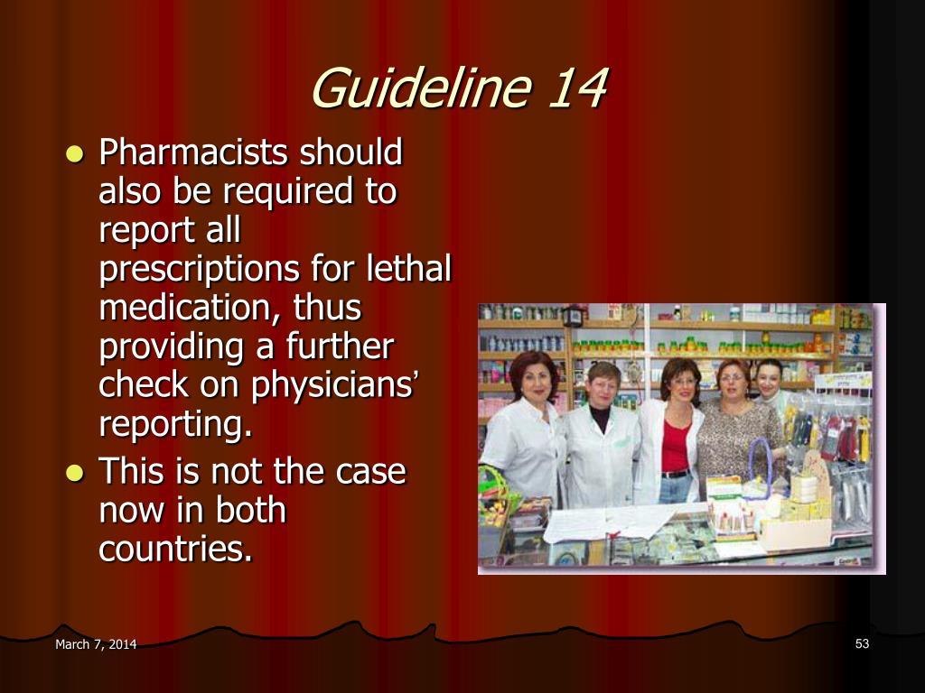 Guideline 14
