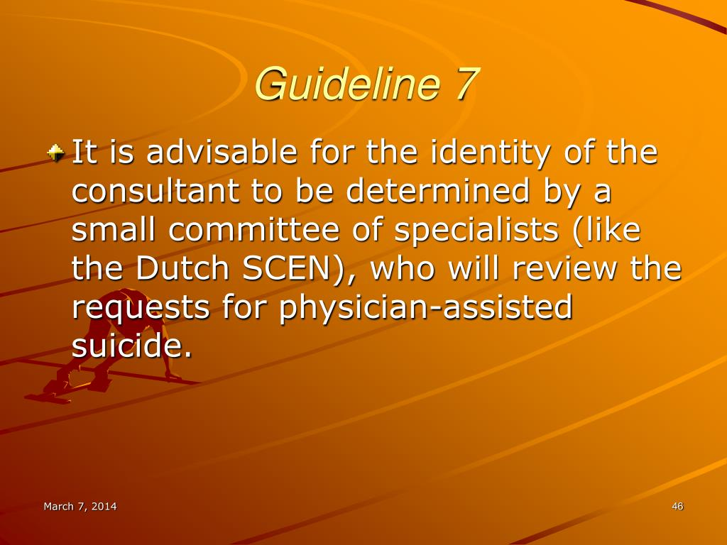 Guideline 7