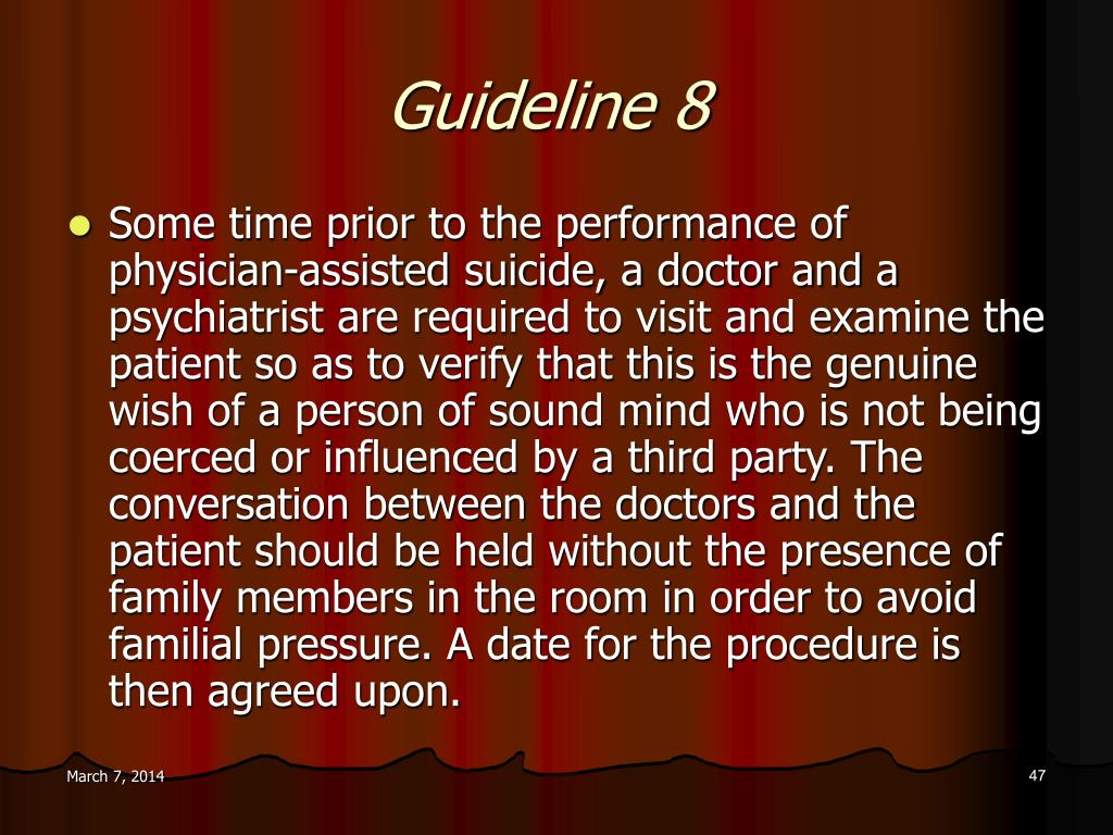 Guideline 8