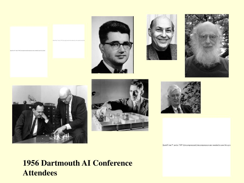 1956 Dartmouth AI Conference Attendees