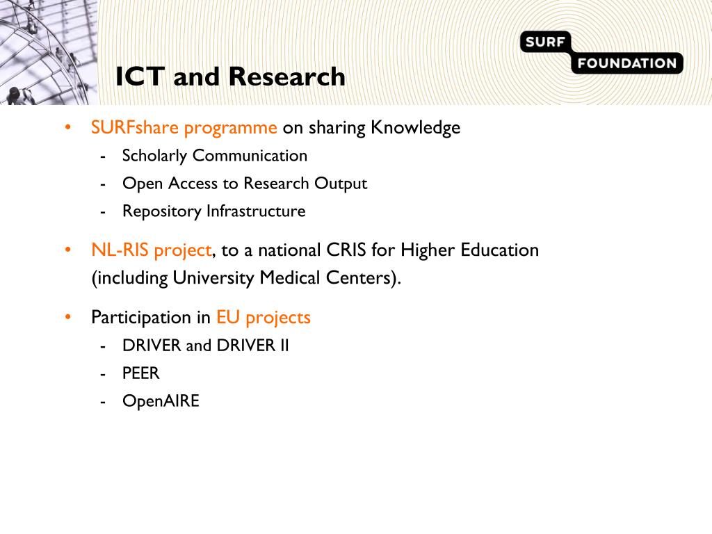 ICT and Research