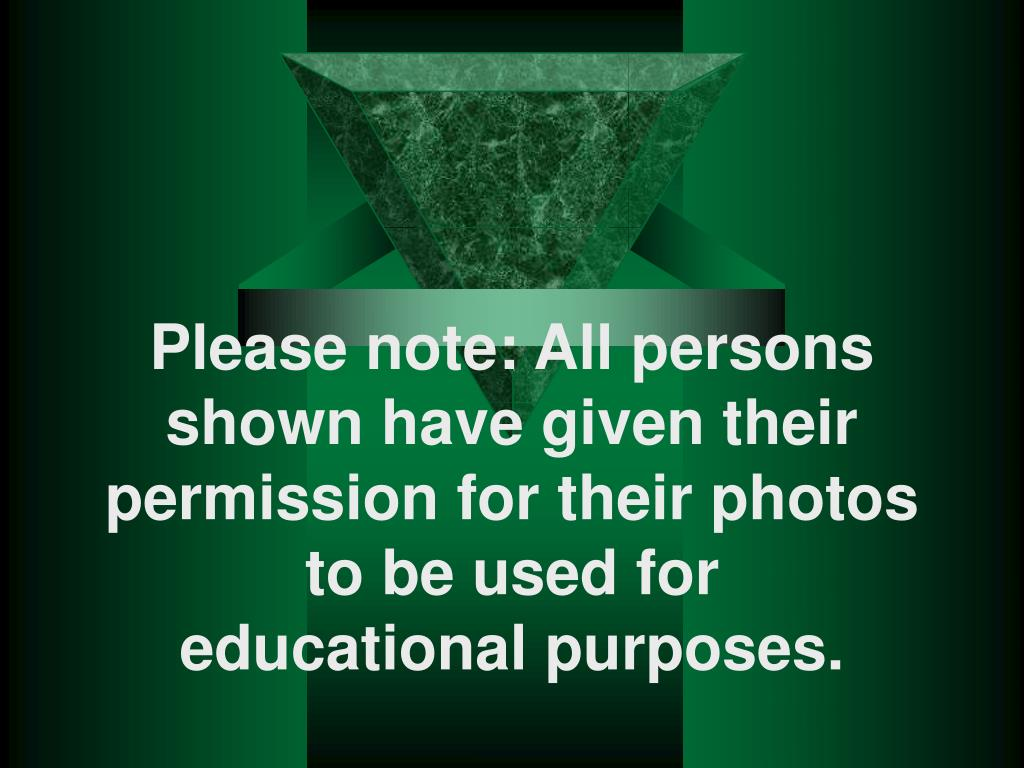 Please note: All persons shown have given their permission for their photos to be used for