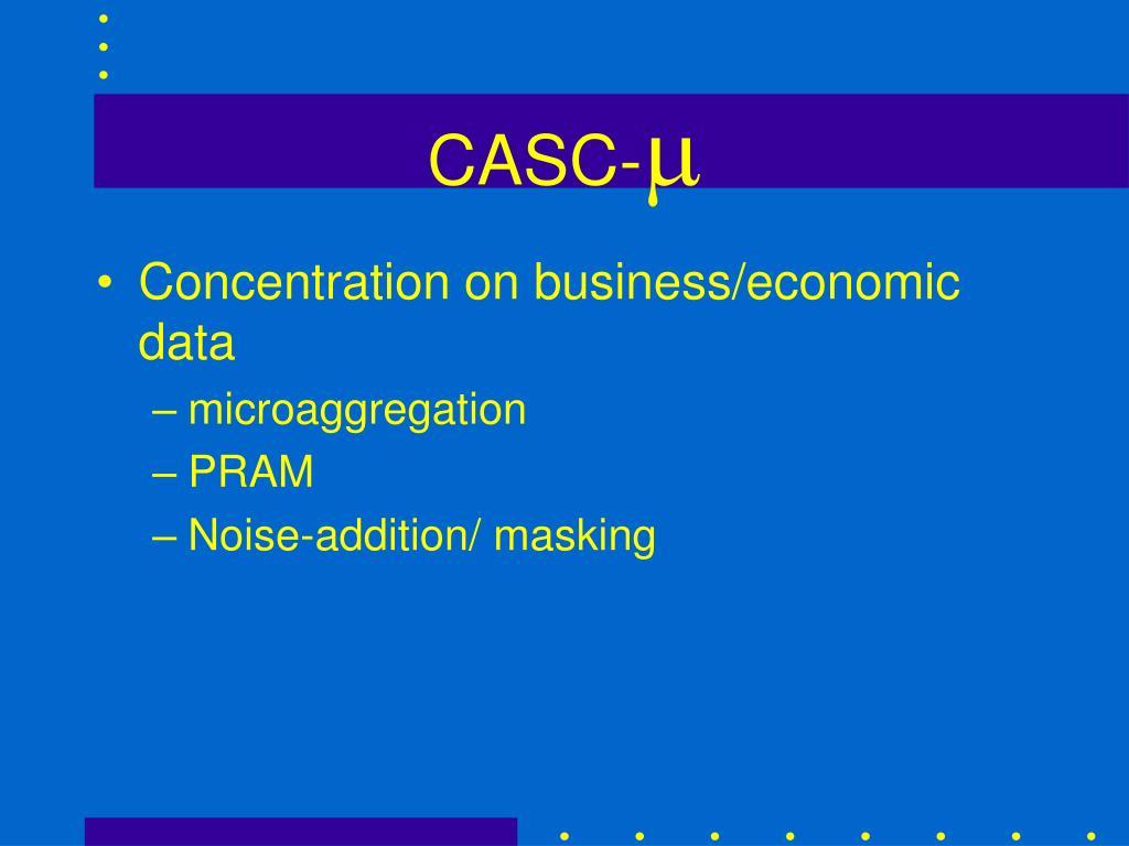 CASC-