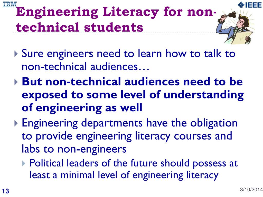Engineering Literacy for non-technical students