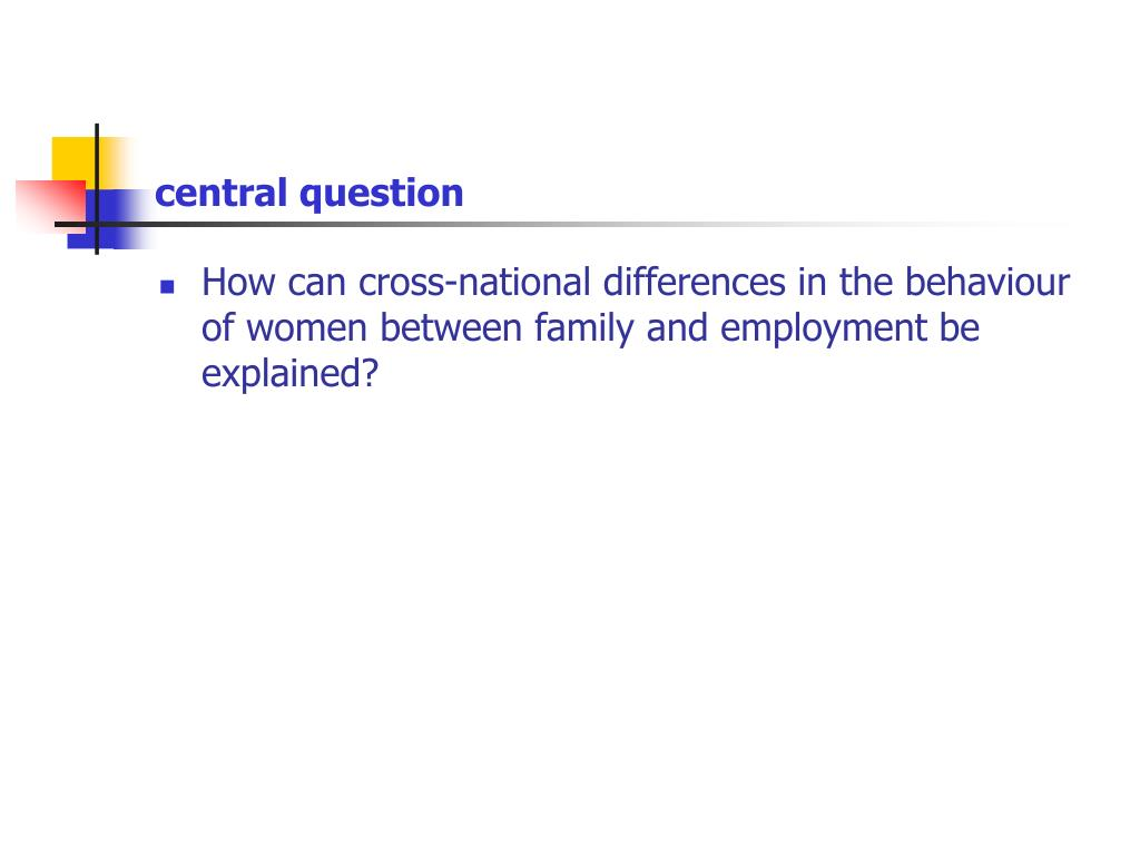 central question