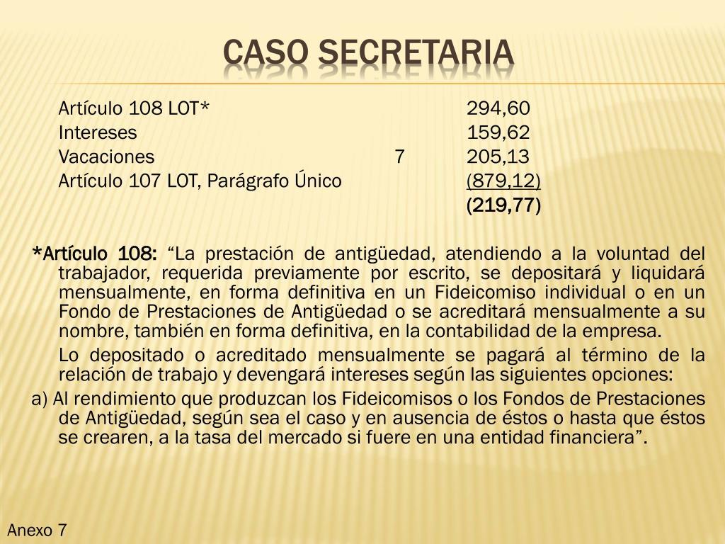 Artículo 108 LOT*294,60