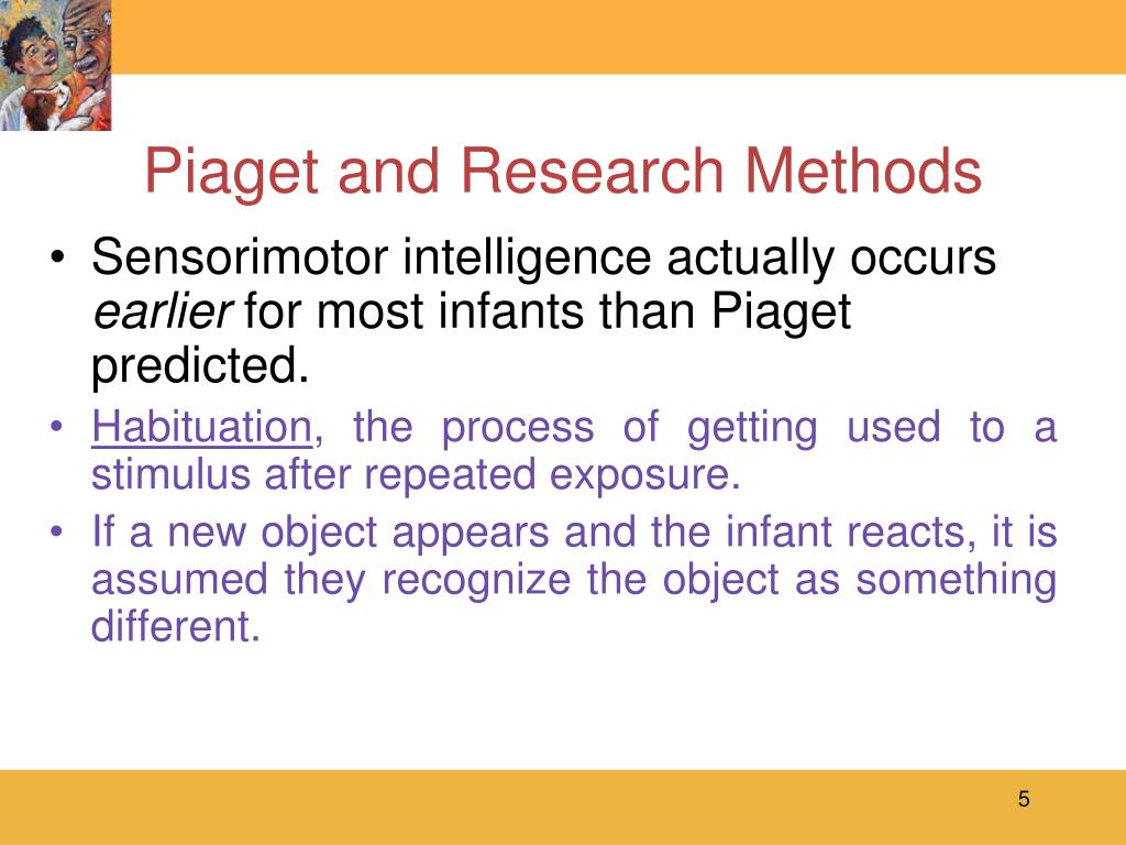 Piaget and Research Methods
