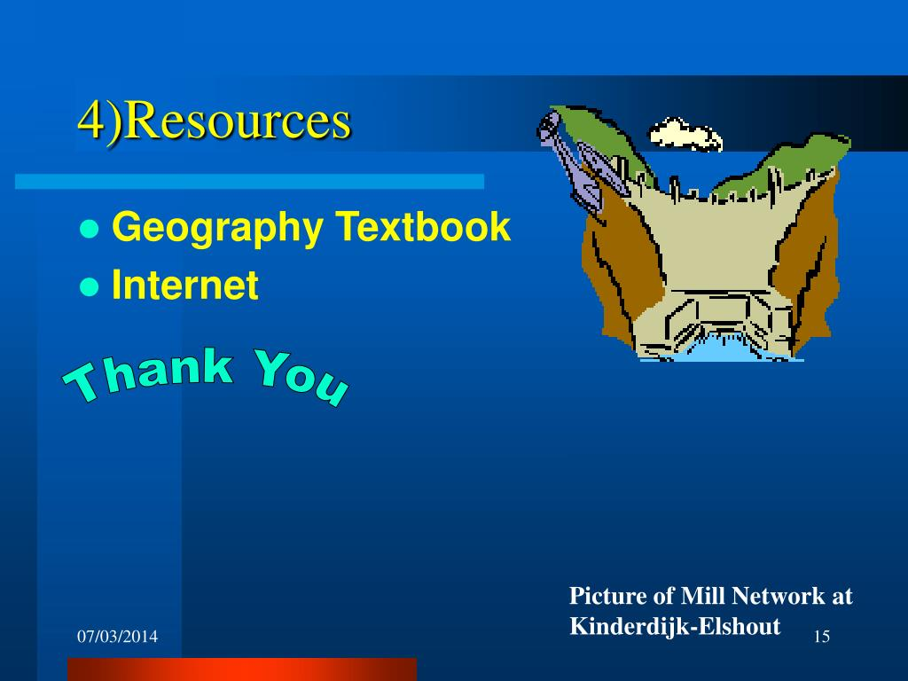 4)Resources
