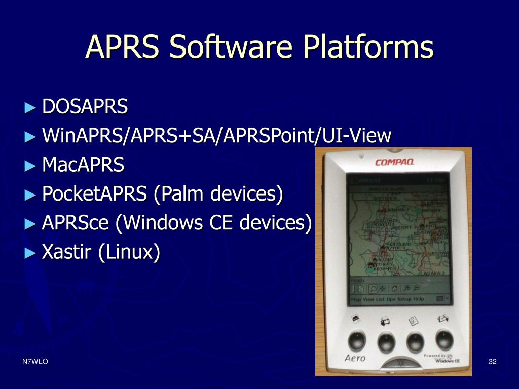 APRS Software Platforms