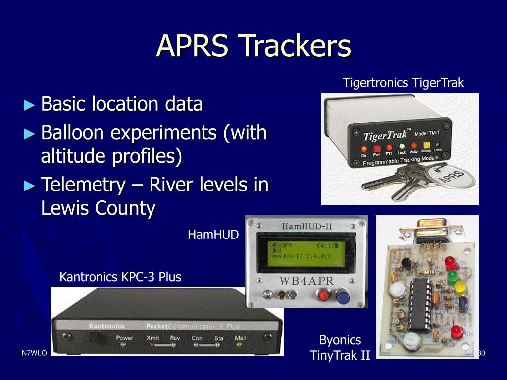 APRS Trackers