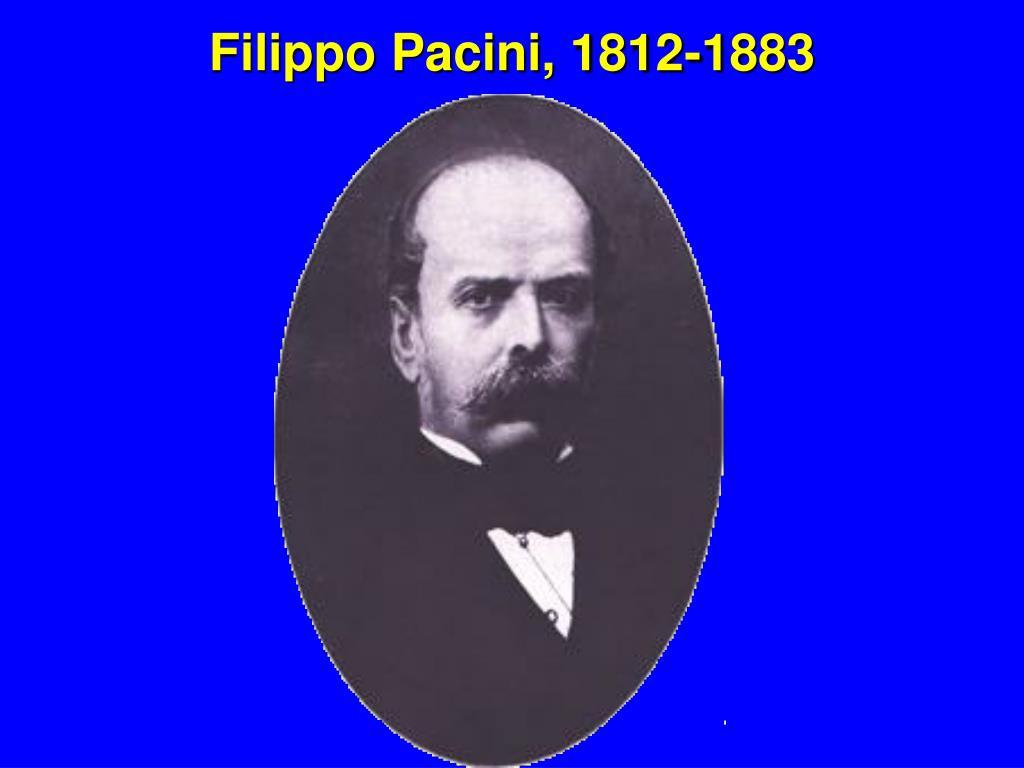 Filippo Pacini, 1812-1883